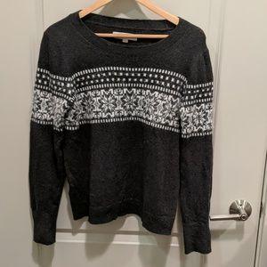 Loft Snowflake Sweater